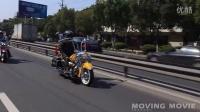 Moving Movie-百名哈雷骑士 炸街 !台州