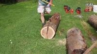 2-Splitting the Oak Log-劈裂加工橡木圆木.flv