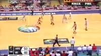 7月29日 男篮钻石杯 阿根廷vs伊朗 第三节