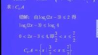 2008年高清晰视频高考易错100题讲解高中数学专区01