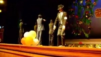 渤大08迎新晚会——模仿杰克逊舞蹈