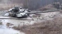 军情解码---实拍俄罗斯主战坦克T90终极测试