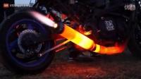 幽灵骑士摩托车已达到排气极限