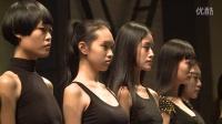 2014中国国际时装周模特面试花絮衣妆盛饰14