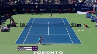 Ivanovic vs Zhang Highlights (Toronto_2011)