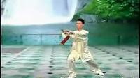 42式太极剑 梁祝慢音乐 陈思坦演示