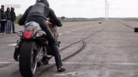 最快的摩托车改装 瞬间提速超500公里 铃木隼
