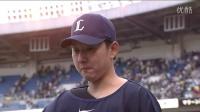 今季初登板初勝利、野上のヒーローインタビュー 2014.04.02 M-L