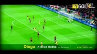 足坛一周十大进球(4月第1周) 里克尔梅招牌任意球&卡卡超级世界波