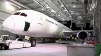 新西兰航空首架波音787-9飞机全黑涂装亮相