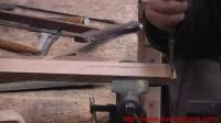 木工视频 传统木工辛全生手工制作插屏全过程总共7集(第四集)