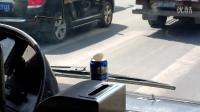 (3)行车10.3公里,慢点4分钟,吉林公交46郑老师,挑战易拉罐上的乒乓球!