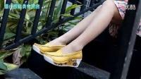 2014新款内增高摇摇鞋真皮透气女鞋坡跟单鞋厚底松糕鞋休闲凉拖鞋