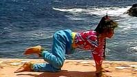 跪举腿式 臀部塑型 蕙兰瑜伽