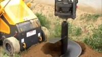 泰安海松机械有限公司微型滑移装载机带钻孔器