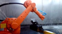 ABB机器人喷涂视频