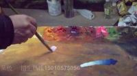 油画教程:怎样调颜色 主讲:著名油画家吴极