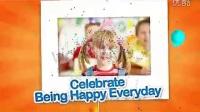 欢乐的,家庭,生日,聚会,相册AE模板视频素材来自西橘网