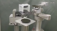 REJE北京锐洁机器人-JEL圆柱坐标型双臂机械手臂(STCR4000S,带晶圆翻转机构)