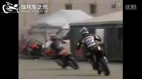 摩托车之家-越野摩托车滑胎教学视频 越野摩托车压弯 弯道飘逸