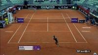 WTA 2014罗马 第二轮 张帅VS科维托娃 自制HL