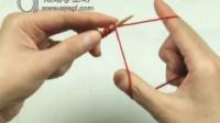 阿瑛讲解 手指绕线的单罗文编织的起针法_棒针(高清)