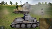 坦克世界转战战争雷霆解说1.41初级坦克干翻猎虎。。加新飞机简介