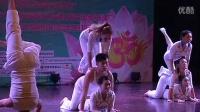 国际瑜伽教育学院八周年集体瑜伽表演