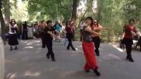 紫竹院相约紫竹广场舞--舞蹈再唱山歌给党听