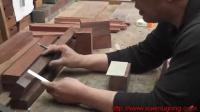 传统木工辛全生手工制作茶桌 炕桌 全过程(第二集)