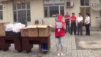 静海义工志愿者感谢城市美容师情系环卫工人活动20140525