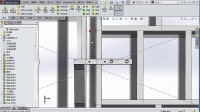 《SolidWorks 2014 实用教程》32.焊接件机架设计十四(中)