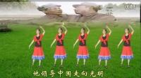 广州花都广场舞【没有共产党就没有新中国】原创