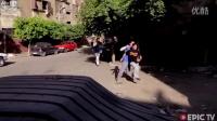 埃及热血青年开罗街头跑酷运动第二波