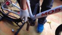 山地自行车组装流程 自行车装配调试流程 山地车变速器调试