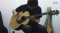 许巍《蓝莲花》指弹吉他井岸吉他暑期班艺博琴行蒋老师