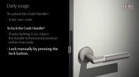 最佳选择:日常使用密码把手智能锁