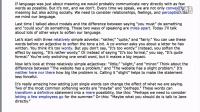 英语口语--如何委婉表达? Part 2 of 2