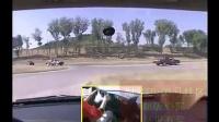 场地75 《直角转弯》引导驾驶模拟练习_学车视频