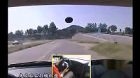 场地73《单边桥》引导驾驶模拟练习_学车视频