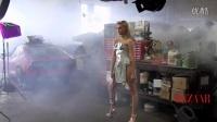 《变4》女主角《时尚芭莎》性感出镜 首次曝光影片精彩花絮