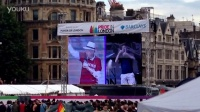 #伊恩麦凯伦#Sir Ian Mckellenat London Pride 2014