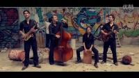 法国当红民谣乐队l'Herbe Folle (野草)-Chaloupé Biguiné Clip