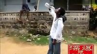 阿三喝水神技,让你以后喝水从零开始了!