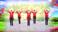 粉丝广场舞《小苹果—小草团队演示》 编舞制作骄阳舞韵 演示小草团队
