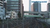 山手線-205系电车最终运转日 通过品川站-大崎站区间
