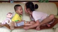 和畅畅姐姐连环亲(1岁8个月15天)