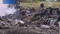 马航MH17航班坠毁现场