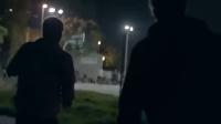 凯里欧文扮老人打街头篮球完整版