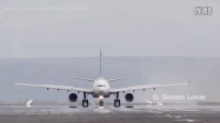 A330起飞时发动机故障,最大刹车加反推,大速度中断起飞